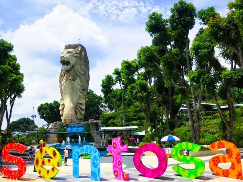 SINGAPORE: ĐẢO SENTOSA - VƯỜN CHIM JURONG [ MÙNG 3 TẾT AL)
